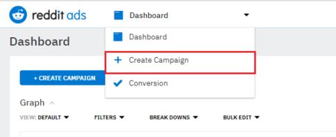 Create a Reddit Campaign