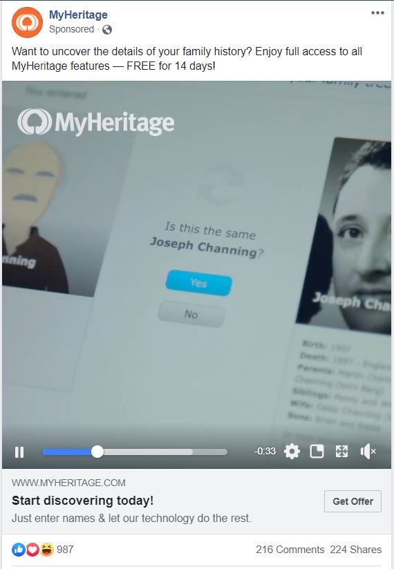 Leverage old posts in Facebook ads
